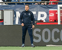 FOXBOROUGH, MA - JULY 17: Marc Dos Santos during a game between Vancouver Whitecaps and New England Revolution at Gillette Stadium on July 17, 2019 in Foxborough, Massachusetts.