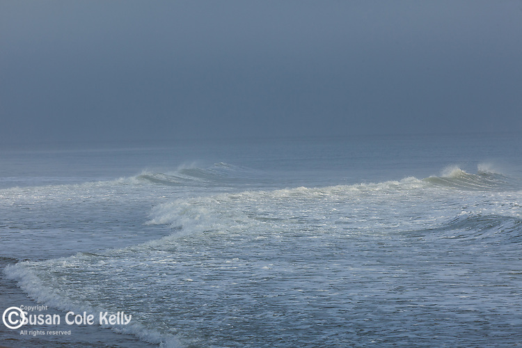 Storm surf at Head of the Meadow Beach, Cape Cod National Seashore, Truro, Massachusetts, USA