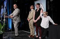Martin Brunelle<br /> , V-P principal du mouvement Desjardins <br />  au Gala Phenicia de la Chambre de Commerce LGBT du Québec, tenu au Parquet de la Caisse de Depots et Placements du Quebec, jeudi, 26 mai 2016.<br /> <br /> <br /> PHOTO : Pierre Roussel -  Agence Quebec Presse