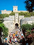 Griechenland, Dodekanes, Rhodos, Rhodos-Stadt: Eingang Grandmasters Palace | Greece, Dodekanes, Rhodes, Rhodes-City: entrance to Grandmasters Palace