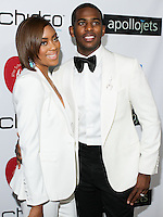 BEVERLY HILLS, CA, USA - OCTOBER 26: Jada Crawley, Chris Paul arrive at the CP3 Foundation Celebrity Server Dinner held at Mastro's Steakhouse on October 26, 2014 in Beverly Hills, California, United States. (Photo by Rudy Torres/Celebrity Monitor)