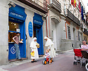 Nuns with children  in Madrid