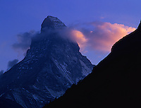 Matterhorn at sunrise, Zermatt, Swiss Alps, Switzerland