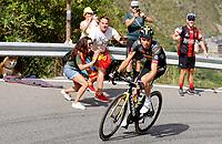 11th July 2021, Ceret, Pyrénées-Orientales, France; Tour de France cycling tour, stage 15, Ceret to  Andorre-La-Vieille;   KUSS Sepp (USA) of JUMBO - VISMA  during stage 15 of the 108th edition of the 2021 Tour de France cycling race, a stage of 191,3 kms between Ceret and Andorre-La-Vieille.