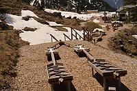 Murmelbahnparcours an der Rosshütte - Seefeld 28.05.2021: Trainingslager der Deutschen Nationalmannschaft zur EM-Vorbereitung