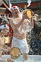 Japanese 2013 New Year Ice Bath