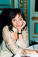 File - August 25, 2000, Montreal, Quebec, Canada<br /> <br /> Portuguese actress Meideros (Pulp Fiction, ...)<br />  <br /> Mandatory Credit: Photo by Pierre Roussel- Images Distribution. (©) Copyright 2000 by Pierre Roussel <br /> ON SPEC<br /> NOTE: scan from 35mm slide