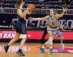 March 13, 2021— Dakota State (S.D.) v Providence (Mont.) NAIA Women's Basketball at Sokol Arena in Omaha, Nebraska (Photo by Richard Carlson/inertia)