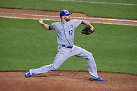 Kansas City Royals pitcher Wade Davis during the MLB All-Star Game on July 14, 2015 at Great American Ball Park in Cincinnati, Ohio.  (Mike Janes/Four Seam Images)