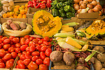 Vegetable stand, Abra Pampa, Andes, northwestern Argentina