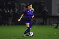 Anderlecht midfielder Stefania Vatafu (10) pictured during a female soccer game between Sporting Charleroi and RSC Anderlecht on the third matchday of the 2020 - 2021 season of Belgian Scooore Womens Super League , friday 2 nd of October 2020  in Marcinelle , Belgium . PHOTO SPORTPIX.BE | SPP | DAVID CATRY