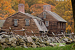 The Hartwell Tarvern, a colonial site on the Battle Road, Minuteman National Park, Concord, MA