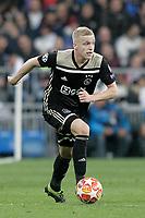 AFC Ajax's Donny van de Beek during a UEFA Champions League match. Round of 16. Second leg. March, 5,2019. (ALTERPHOTOS/Alconada)<br /> Champions League 2018/2019<br /> Real Madrid - Ajax Ottavi di Finale <br /> Foto Alterphotos / Insidefoto