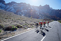 The joy of riding/training in the mountains<br /> <br /> Tiede Vulcano National Park,<br /> Tenerife 2016