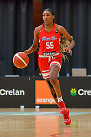 Jackie Benitez (55) of Puerto Rico pictured during a basketball game between the national teams of Puerto Rico and Serbia on Sunday 30 th of May 2021 in Kortrijk , Belgium . PHOTO SPORTPIX.BE   SPP   STIJN AUDOOREN