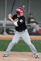 January 17, 2010:  Mike Cox (New Haven, CT) of the Baseball Factory Northeast Team during the 2010 Under Armour Pre-Season All-America Tournament at Kino Sports Complex in Tucson, AZ.  Photo By Mike Janes/Four Seam Images