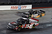 #15: Dylan Lupton, DGR-Crosley, Toyota Tundra Crosley and #33: Ryan Sieg, Reaume Brothers Racing, Chevrolet Silverado Cook's Comfort System