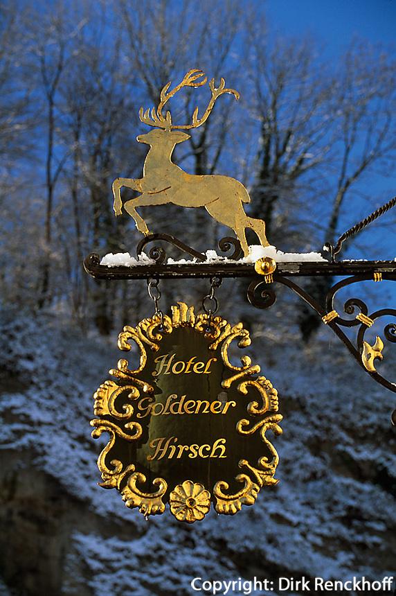 Hotel Goldener Hirsch. Salzburg, Österreich