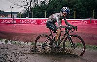 Tom Pidcock (GBR/Trinity)<br /> <br /> UCI cyclo-cross World Cup Dendermonde 2020 (BEL)<br /> <br /> ©kramon