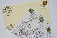 Bundeswehr Feldpost, Brief und Postkarten aus dem Camp Castor in Mali