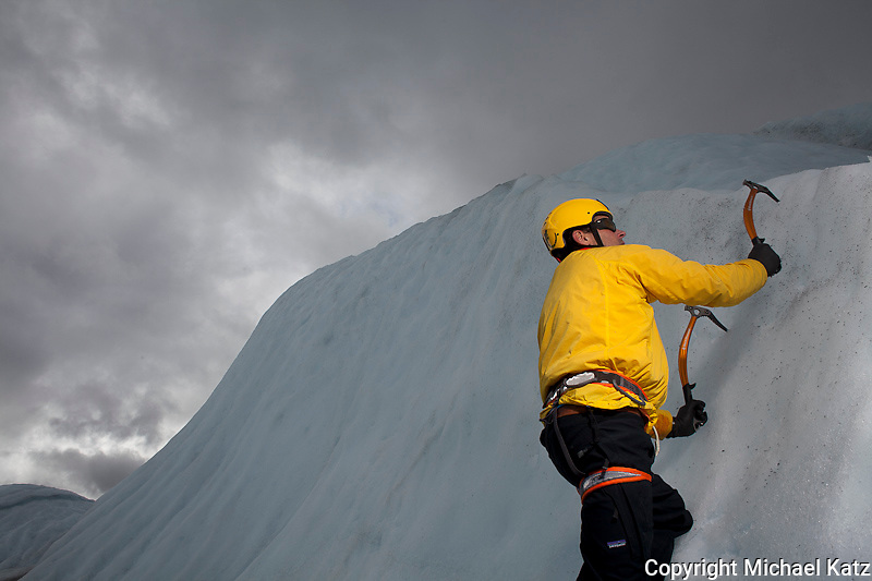 Ice Climber, Matanuska Glacier