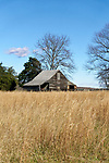 Appomattox Court House, Virginia, site of the surrender ending the Civil War.