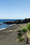 Spain, Canary Islands, La Palma, Los Cancajos: resort at the east coast with beach Playa de los Cancajos