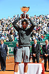 Rafael Nadal wins in the final at Monte Carlo on April 22, 2012