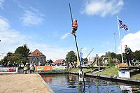 FIERLJEPPEN: IJLST: 07-08-2021, FK Jeugd, Jorrit Bouwstra (10,49 meter), ©foto Martin de Jong