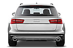 Straight rear view of a 2013 Audi A6 Allroad Quattro Wagon