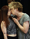 """Christina Bennington and Andre Polec during Jim Steinman's """"Bat Out of Hell - The Musical"""" - Open Rehearsal at New York City Center on July 30, 2019 in New York City."""