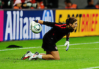 Fifa Women's World Cup Germany 2011 : Japan - USA  at Commerzbank Arena Frankfurt : Hope Solo.foto DAVID CATRY / Vrouwenteam.be