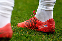 Bridgeview, IL - Saturday April 14, 2018: Zlatan Ibrahimovic, Nike shoes during a regular season Major League Soccer (MLS) match between the Chicago Fire and the LA Galaxy at Toyota Park.  The LA Galaxy defeated the Chicago Fire by the score of 1-0.