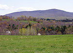 Mountain View in the Berkshires, New England, USA
