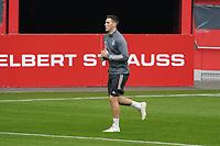 Niklas Süle (Deutschland Germany) im Lauftraining - 23.03.2021: Training der Deutschen Nationalmannschaft vor dem WM-Qualifikationsspiel gegen Island, Merkus Spiel Arena Duesseldorf