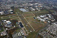 aerial photograph of the Northeast Philadelphia Airport (PNE),Northeast Philadelphia, Pennsylvania