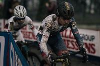 Tom Pidcock (GBR/U23/Telenet Fidea Lions) followed closely by Eli Iserbyt (BEL/Marlux-Napoleon Games)<br /> <br /> U23 Men's race<br /> UCI CX World Cup Namur / Belgium 2017