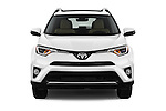 Car photography straight front view of a 2016 Toyota RAV4 Limited 4x4 Door Suv Front View