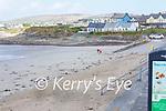 A very quiet Ballyheigue beach on Saturday,