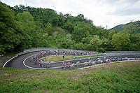 2013 Giro d'Italia.stage 10..switchback..