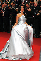 """FRA: """"THE BFG"""" Red Carpet- The 69th Annual Cannes Film Festival - Mallika Sherawat, attend """"THE BFG"""". Red Carpet during The 69th Annual Cannes Film Festival on May 13, 2016 in Cannes, France."""