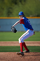 Daniel Carpenter (15) of Martin Luther King Jr. High School - Riverside in Moreno Valley, California during the Baseball Factory All-America Pre-Season Tournament, powered by Under Armour, on January 13, 2018 at Sloan Park Complex in Mesa, Arizona.  (Art Foxall/Four Seam Images)