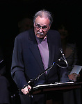 Arthur Kopit attends the Edward Albee Memorial at The August Wilson Theatre on December 6, 2016 in New York City.