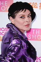 Lisa Stansfield<br /> at the Breast Cancer Care fashion Show 2016, London.<br /> <br /> <br /> ©Ash Knotek  D3193  02/11/2016