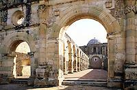 Cuilapan Monastery #7151. Oaxaca Mexico.