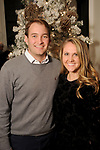 Caroline and Nathan Wynne at the M.D. Anderson Santa's Elves party Thursday Dec. 07,2017. (Dave Rossman Photo)