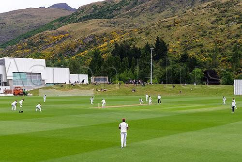 20th November 2020; John Davies Oval, Queenstown, Otago, South Island of New Zealand. New Zealand A versus  West Indies. New Zealand at bat