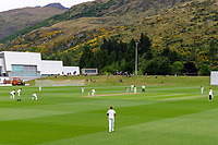 20th November 2020; John Davies Oval, Queenstown, Otago, South Island of New Zealand. New Zealand A versus  West Indies. New Zealand at bat
