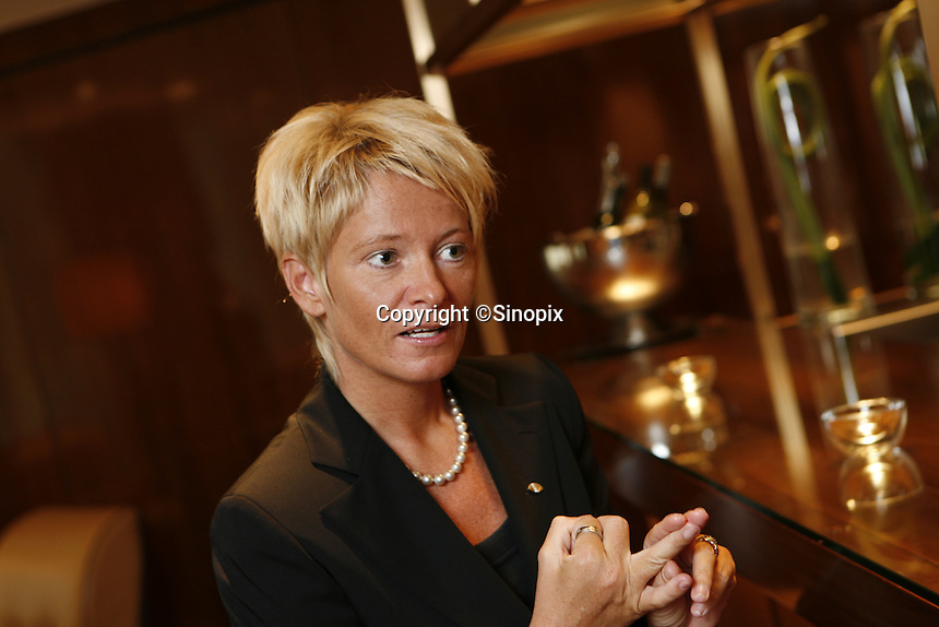 The general manager of the Landmark Mandarin Oriental, Susanne Hatje.
