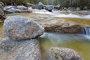 Drakes Brook in Waterville Valley, New Hampshire during the spring months.